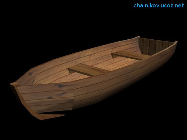 чем покрасить лодку из дерева